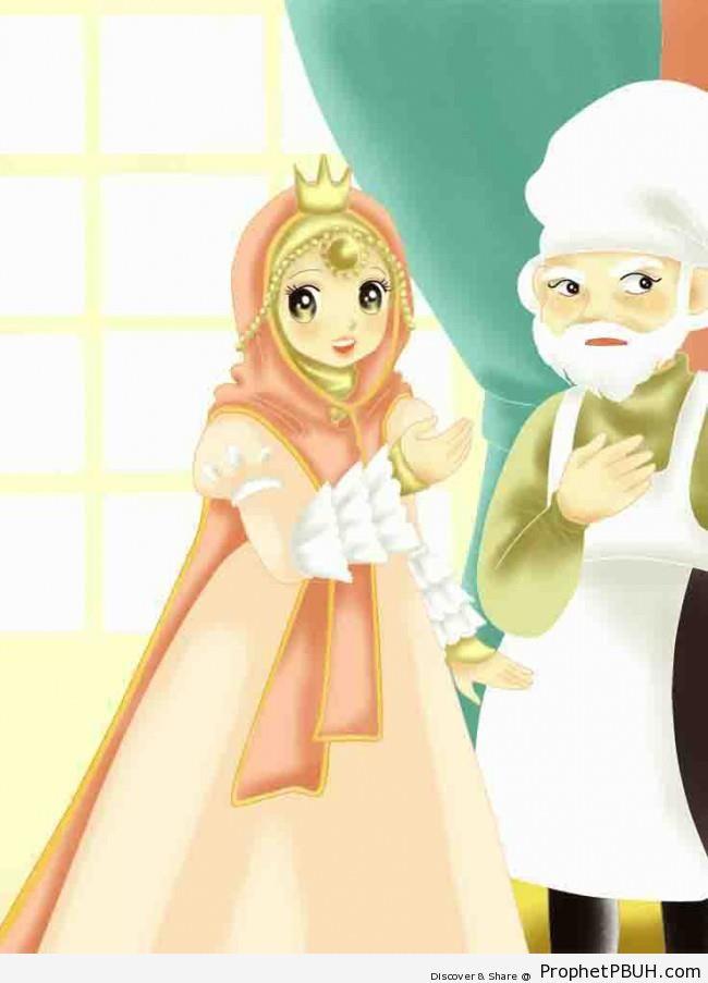 Muslimah Princess - Drawings -002