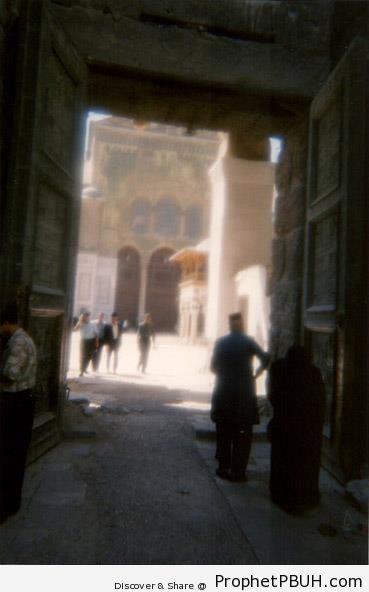 Omayyad Mosque Entrance (Damascus, Syria) - Damascus, Syria