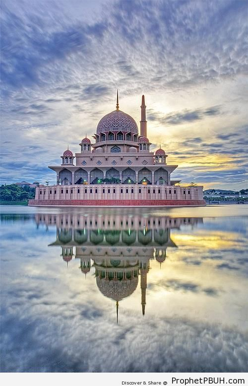Putra Mosque (Putrajaya, Malaysia) - Islamic Architecture