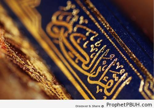Quran Book Spine - Mushaf Photos (Books of Quran)