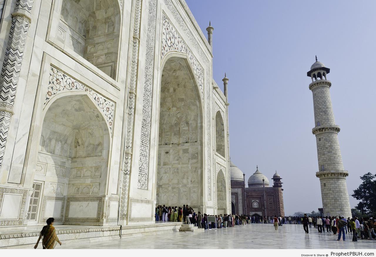 Taj Mahal - Agra, India -