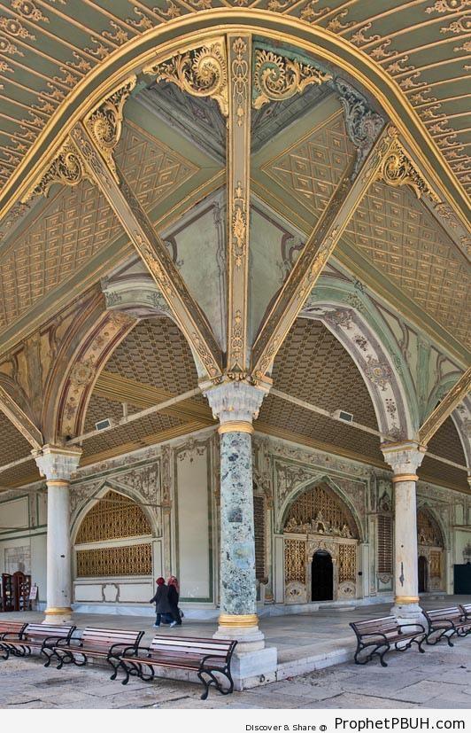 Topkapı Palace in Istanbul, Turkey - Islamic Architecture