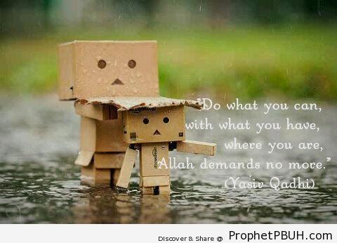 Yasir Qadhi - Islamic Quotes
