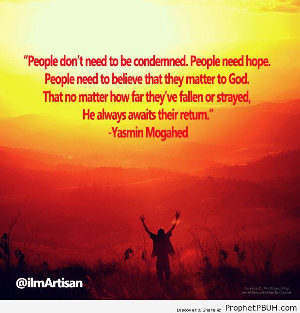 Yasmin Mogahed - Islamic Quotes