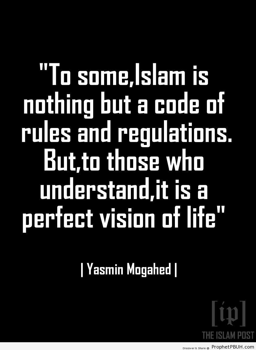 Yasmin Mogahed on Islam - Islamic Quotes