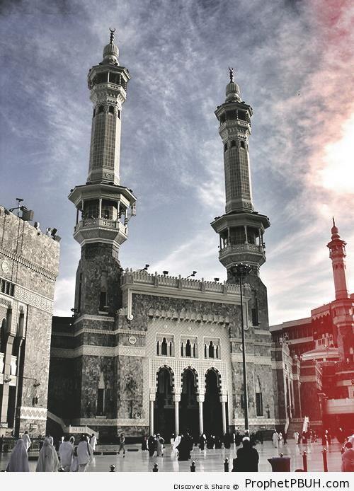 al-Masjid al-Haram Entrance (Makkah, Saudi Arabia) - al-Masjid al-Haram in Makkah, Saudi Arabia