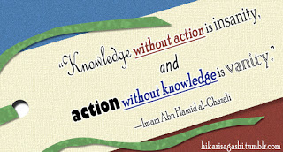 Knowledge in Islam Quote