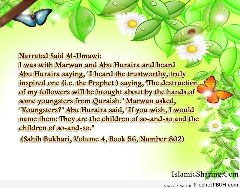 sahih bukhari volume 4 book 56 number 802
