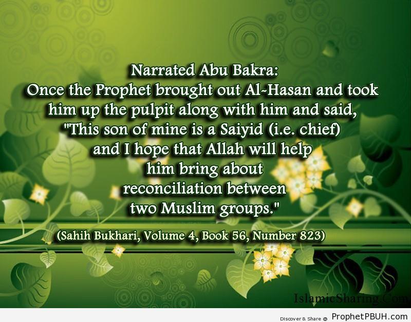 sahih bukhari volume 4 book 56 number 823