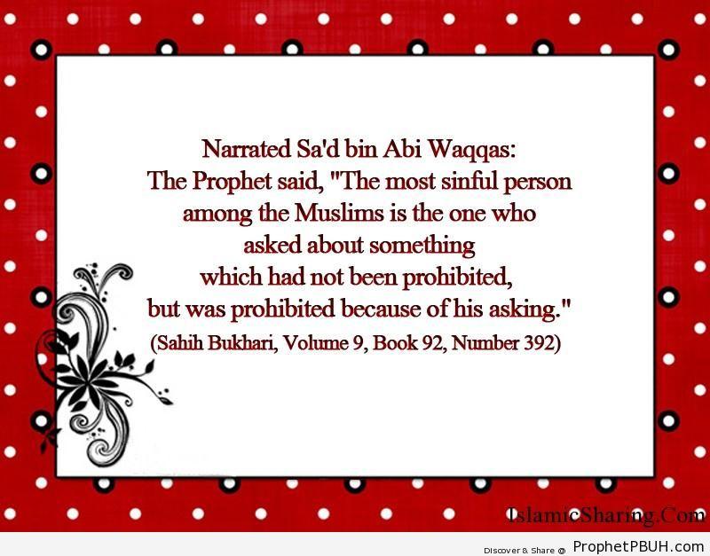 sahih bukhari volume 9 book 92 number 392