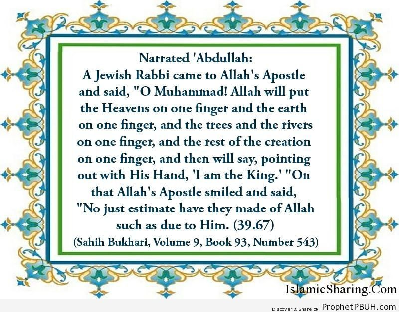 sahih bukhari volume 9 book 93 number 543