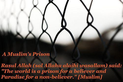 A Muslim's Prison Beautiful Hadith
