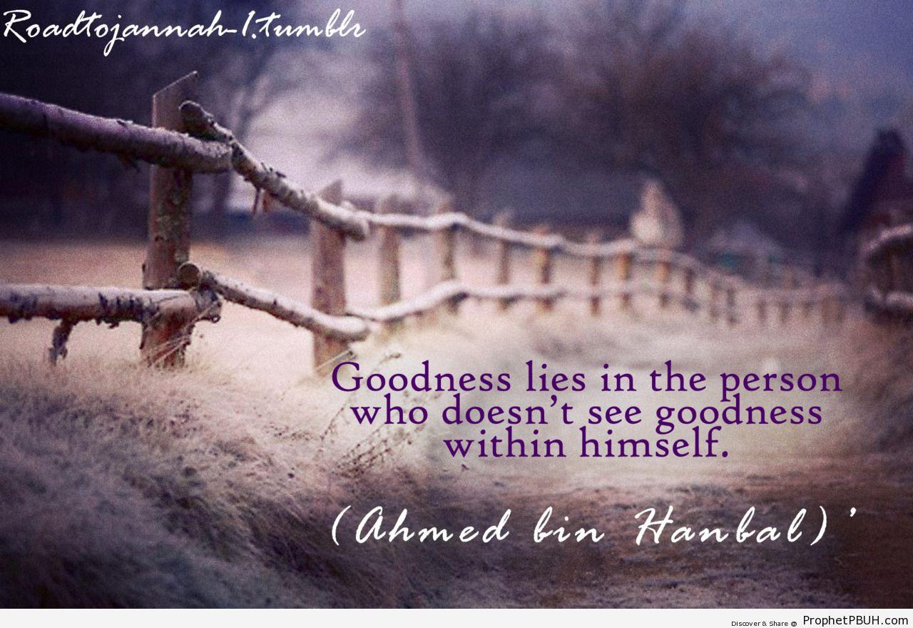 A good person - Islamic Quotes, Hadiths, Duas
