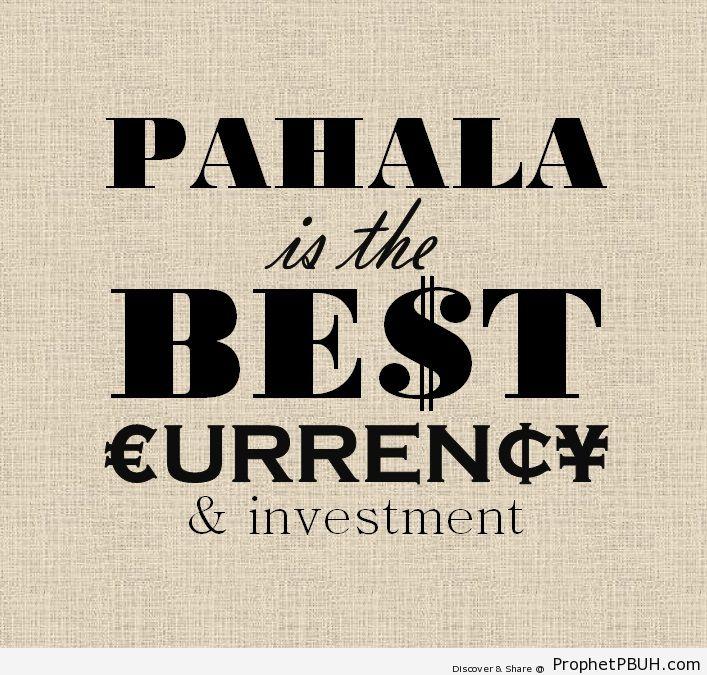 Best currency Shared viaA Qistin Fadzin - Islamic Quotes, Hadiths, Duas