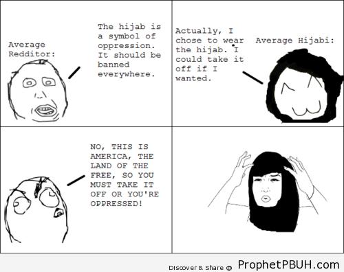 Hijab rage - Islamic Quotes, Hadiths, Duas