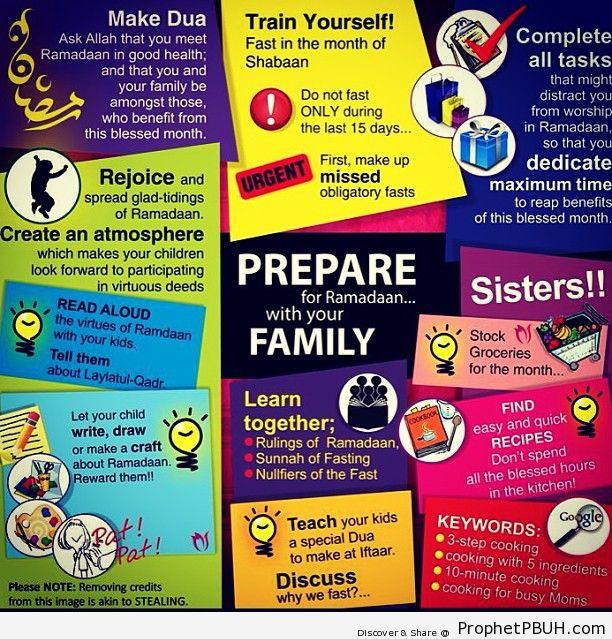 Lets prepare for #Ramadan!... iA - Islamic Quotes, Hadiths, Duas