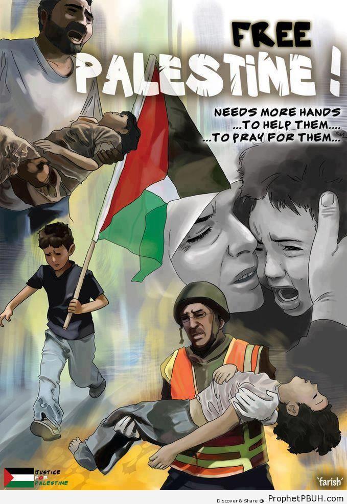 Pray for Palestine - Islamic Quotes, Hadiths, Duas