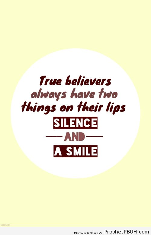 Smile to solve the problems &... - Islamic Quotes, Hadiths, Duas