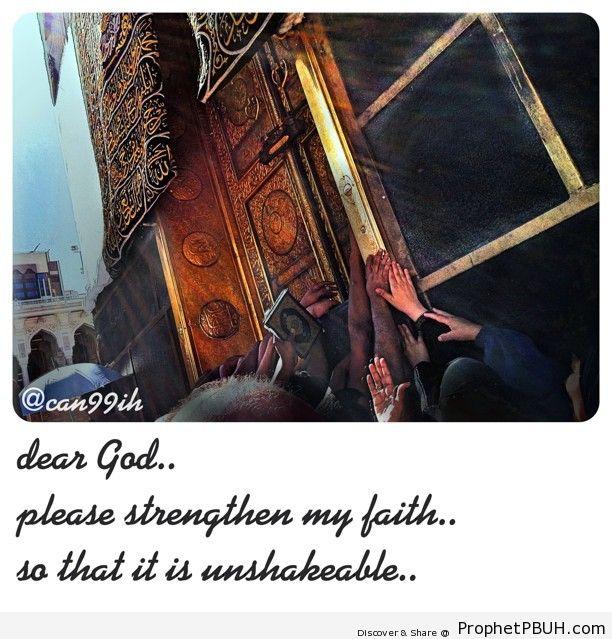 Strengthen my faith Shared viaA can99ih - Islamic Quotes, Hadiths, Duas