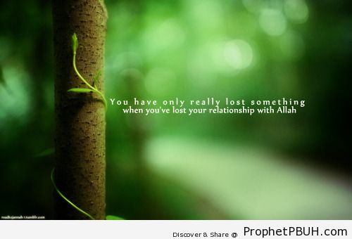 True meaning of lost - Islamic Quotes, Hadiths, Duas