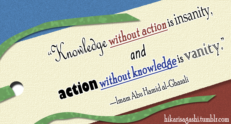 Islamic Quote on Knowledge