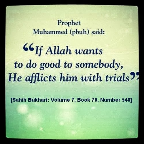 Prophet PBUH Saying about Patience