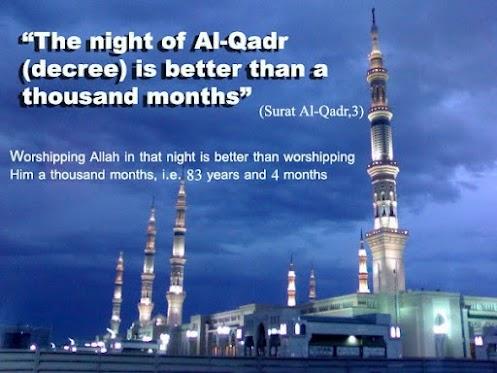 The night of Al Qadr