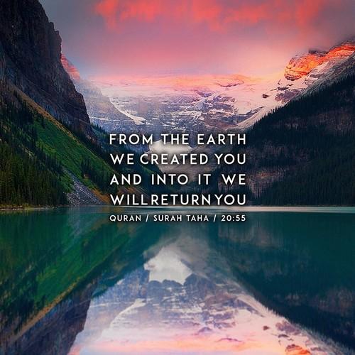 Surah Taha Verse about Earth