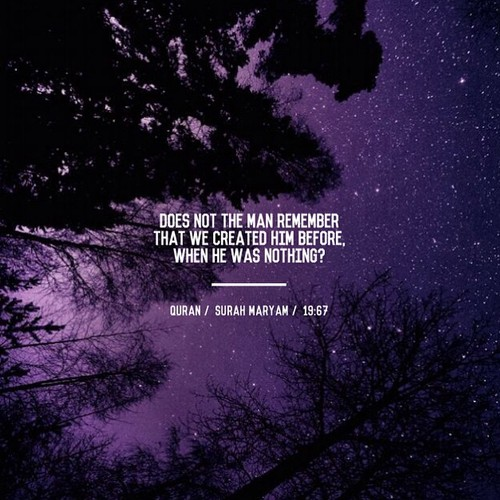 Verse on the creation of man