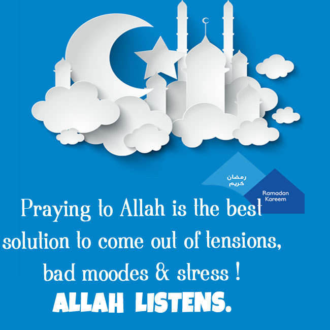 Praying to Allah is the best solution