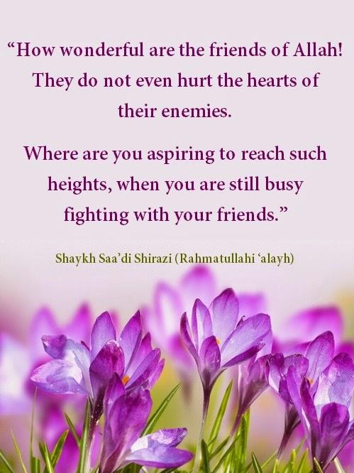 Friends of Allah Subhan wa Ta'ala
