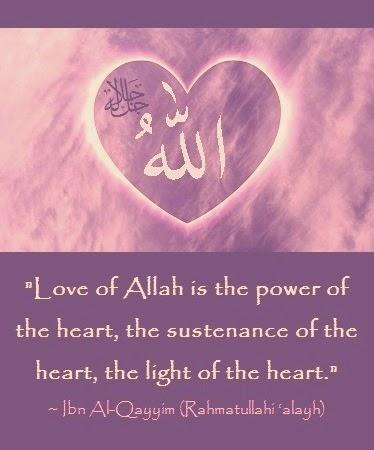 Love of Allah Ta'ala