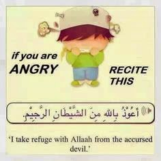 Recite this when Angry