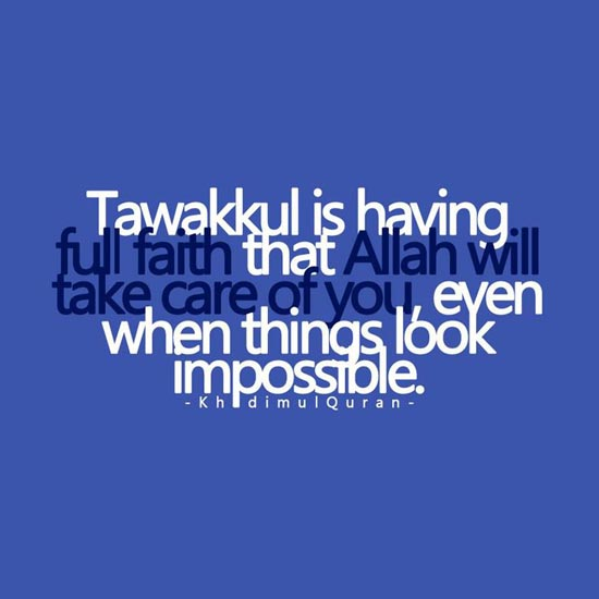 Tawakkul is
