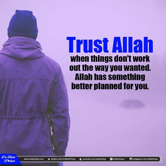 Always Trust Allah