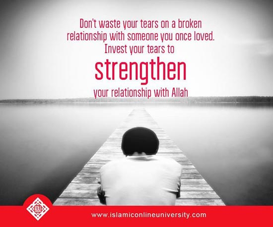 O Allah keep us firm on your deen. Ameen