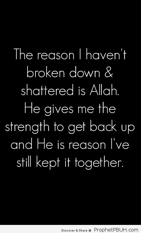 He is the reason