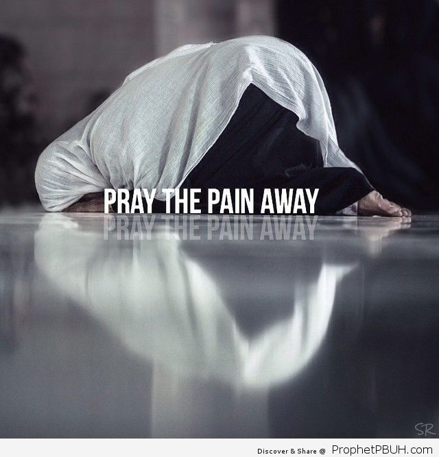 Pray the pain away