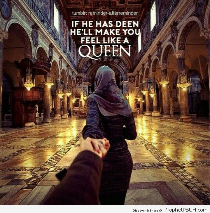 So you are my queen
