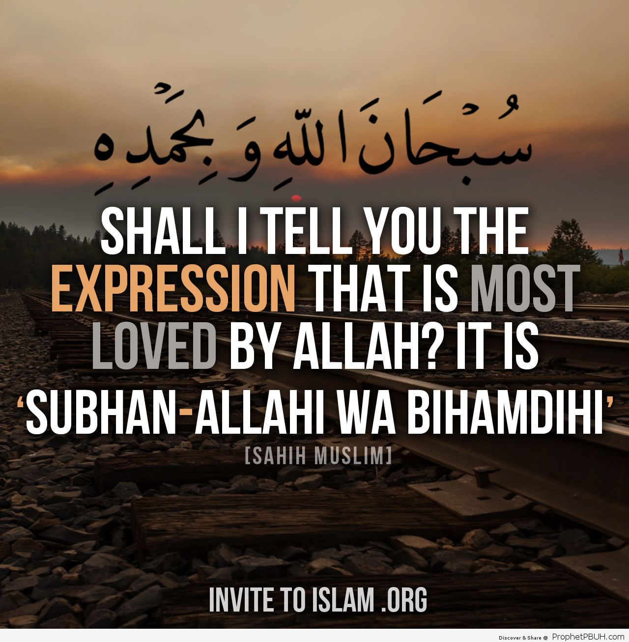 SubhanAllah wa biHamdihi Glory be to Allah and Praise Him Whoever says the above a hundred times during the day his sins are wiped away even if they are like the foam of the sea